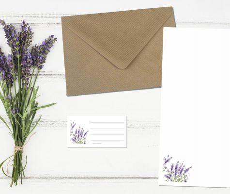 Neue Briefpapiere